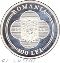 Imaginea #1 a 100 Lei 1999 - Vizita Papei Ioan Paul al II-lea - 7-9 Mai