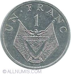 Image #1 of 1 Franc 1985