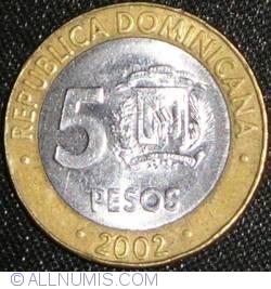 Image #1 of 5 Pesos 2002
