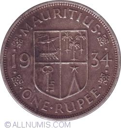 Image #1 of 1 Rupee 1934