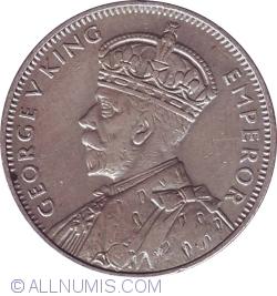 Image #2 of 1/4 Rupee 1934