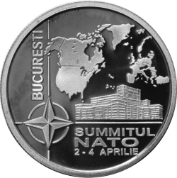 Image #2 of 5 Lei 2008 - The NATO Summit organised in Bucharest during 2-4 April 2008