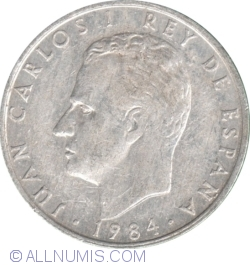 Image #2 of 2 Pesetas 1984