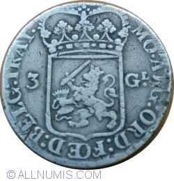 Image #1 of 3 Gulden 1794