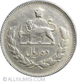 Imaginea #1 a 10 Rials 1967 (SH1346)