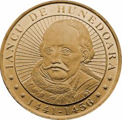 Imaginea #2 a 50 Bani 2016 - 575 de ani de când Iancu de Hunedoara a devenit voievod al Transilvaniei