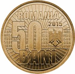 Imaginea #1 a 50 Bani 2015 - 10 ani de la denominarea monedei naționale