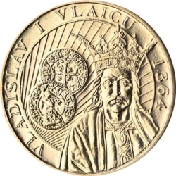 Image #2 of 50 Bani 2014 - 650th anniversary of the beginning of the reign of Vladislav I Vlaicu