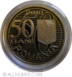 50 Bani 2010 - Aurel Vlaicu - Proof