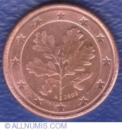 Image #2 of 1 Euro Cent 2002 A
