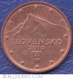 Imaginea #2 a 1 Euro Cent 2010