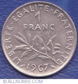 Image #1 of 1 Franc 1967