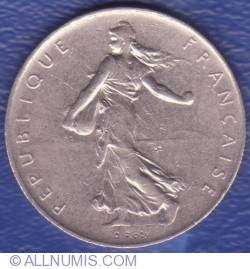 Image #2 of 1 Franc 1967