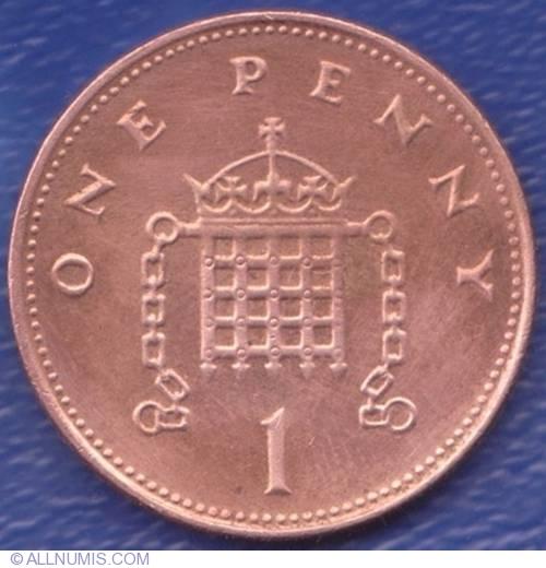 1 Penny 2000, Elizabeth II (1952-present) - Great Britain