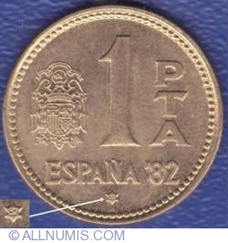 Imaginea #1 a 1 Peseta 1980 (82)