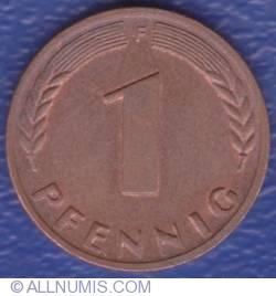 Image #1 of 1 Pfennig 1967 F