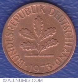 Image #2 of 1 Pfennig 1973 G