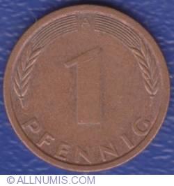 Image #1 of 1 Pfennig 1995 A