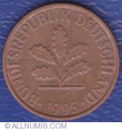 Image #2 of 1 Pfennig 1995 A