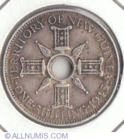 Imaginea #2 a 1 Shilling 1945