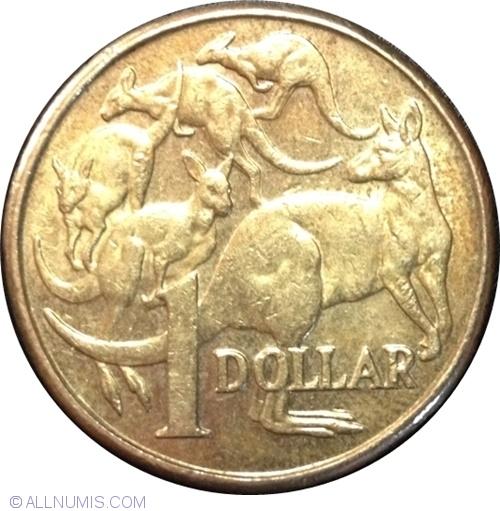1 Dollar 2011 Elizabeth Ii 1952 Present Australia