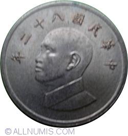 Image #2 of 1 Yuan 1993 (82)