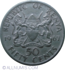 Image #1 of 50 Cents 1967