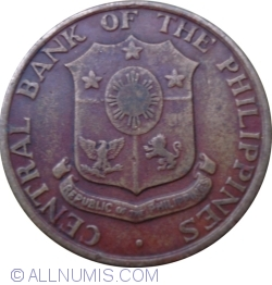 Image #2 of 5 Centavos 1962