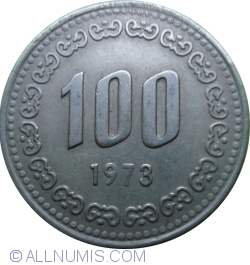 100 Won 1973