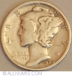 Image #2 of Dime 1929