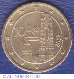 Image #2 of 10 Euro Cent 2002