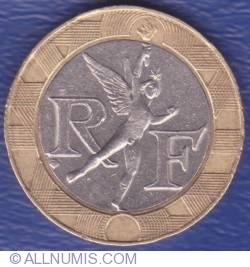 Image #2 of 10 Francs 1991