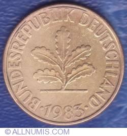 Image #2 of 10 Pfennig 1983 D