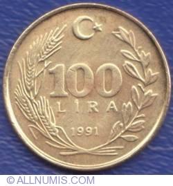 100 Lire 1991
