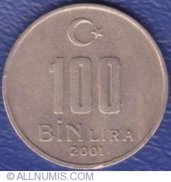 Image #1 of 100000 Lira 2001