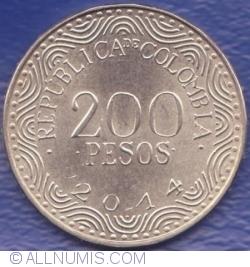 Image #1 of 200 Pesos 2014