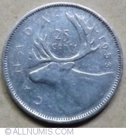 Image #1 of 25 Cents 1953
