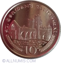Image #1 of 10 Pence 2001 AA