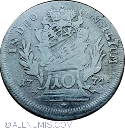 Image #1 of 10 Kreuzer 1774