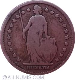 Image #2 of 1 Franc 1877 B