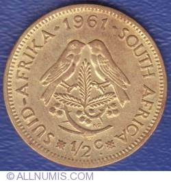 Image #1 of 1/2 Cent 1961