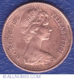 1/2 New Penny 1975