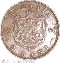 Imaginea #1 a 2 Bani 1880