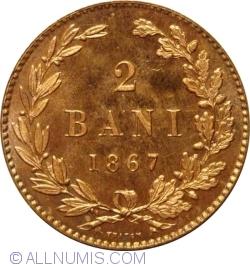 Imaginea #1 a 2 Bani 1867 (Heaton)