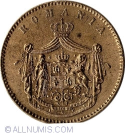 10 Bani 1867 (Watt & Co.)