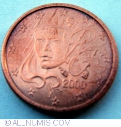 Image #2 of 1 Euro Cent 2000