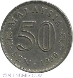 Image #1 of 50 Sen 1980