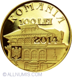 Image #1 of 100 Lei 2014 - 150 years since the birth of Ion I. C. Brătianu