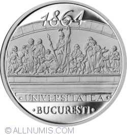 Image #2 of 10 Lei 2014 - 150 years since the establishment of the University of Bucharest