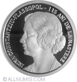 10 Lei 2015 - 115 years since the birth of Irina Constantziu-Vlassopol